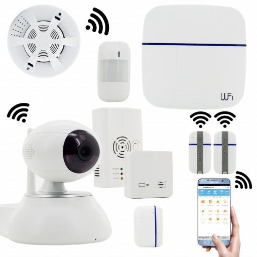 Vcare Smart Home Security System Vcare WIFI / GSM /Funk Alarmanlage Vcare Smart Home Security System Vcare WIFI / GSM /Funk Alarmanlage