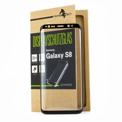 Panzerglas Displayschutzglas infinity Display Samsung Galaxy S8
