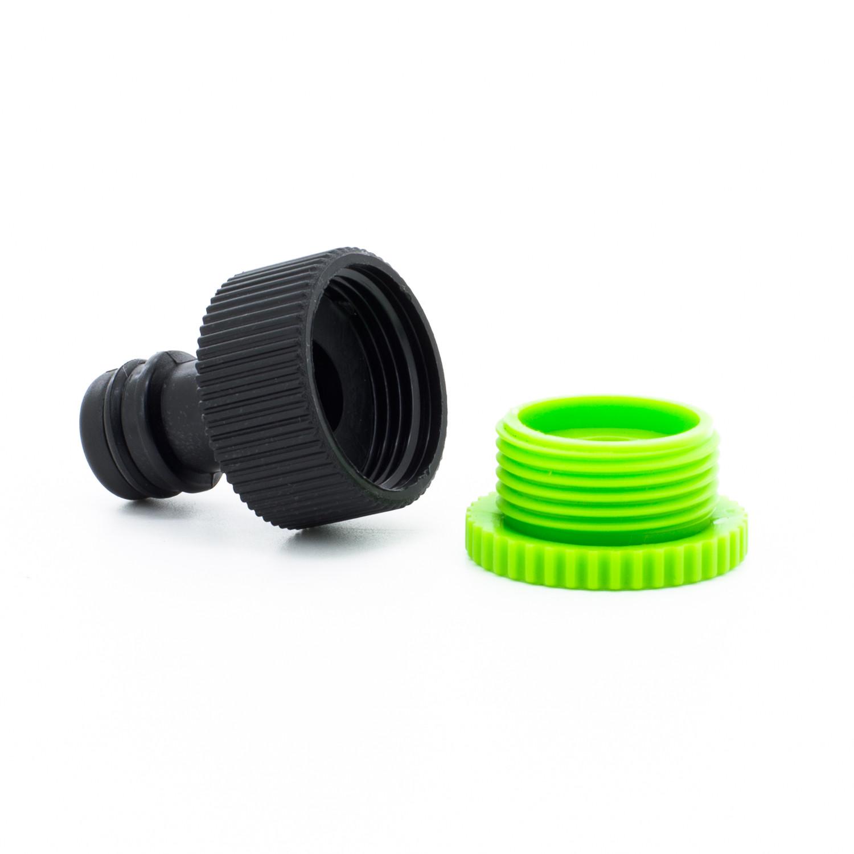 Flexibler Gartenschlauch Flexi Wasserschlauch mit Multifunktionsbrause 7 Funktionen, dehnbar 30m