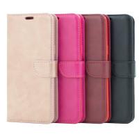 Handy Tasche für Samsung Galaxy S9 Plus Flip Case Schutz Hülle Cover aus Kunst Leder