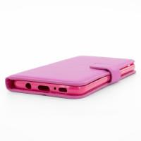 Handy Tasche für Samsung Galaxy S8 Flip Case Schutz Hülle Cover aus Kunstleder