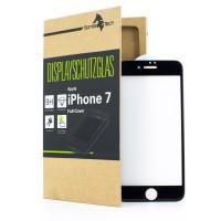 Apple iPhone 7 FULL-FRAME Schutzglas Displayschutz in SCHWARZ, ROT und WEISS