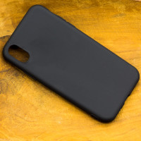 Silikon Handyhülle für das Apple iPhone X mit geschützten seiten Tasten