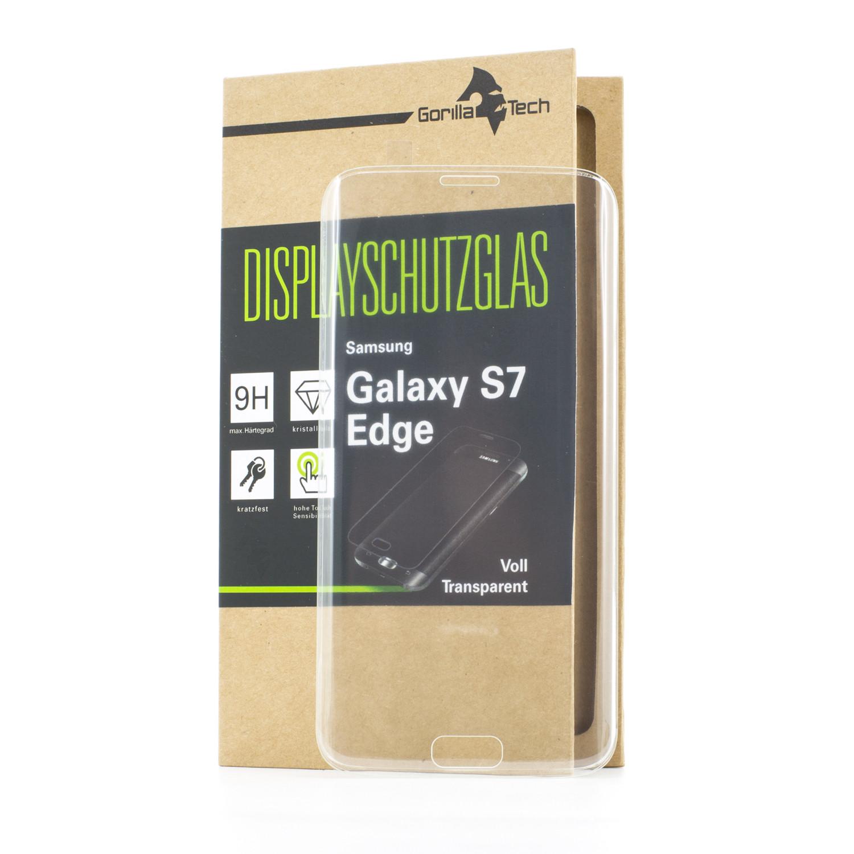 Samsung Galaxy S7 edge Displayschutzglas -HIGH TRANSPARENT FULL COVER
