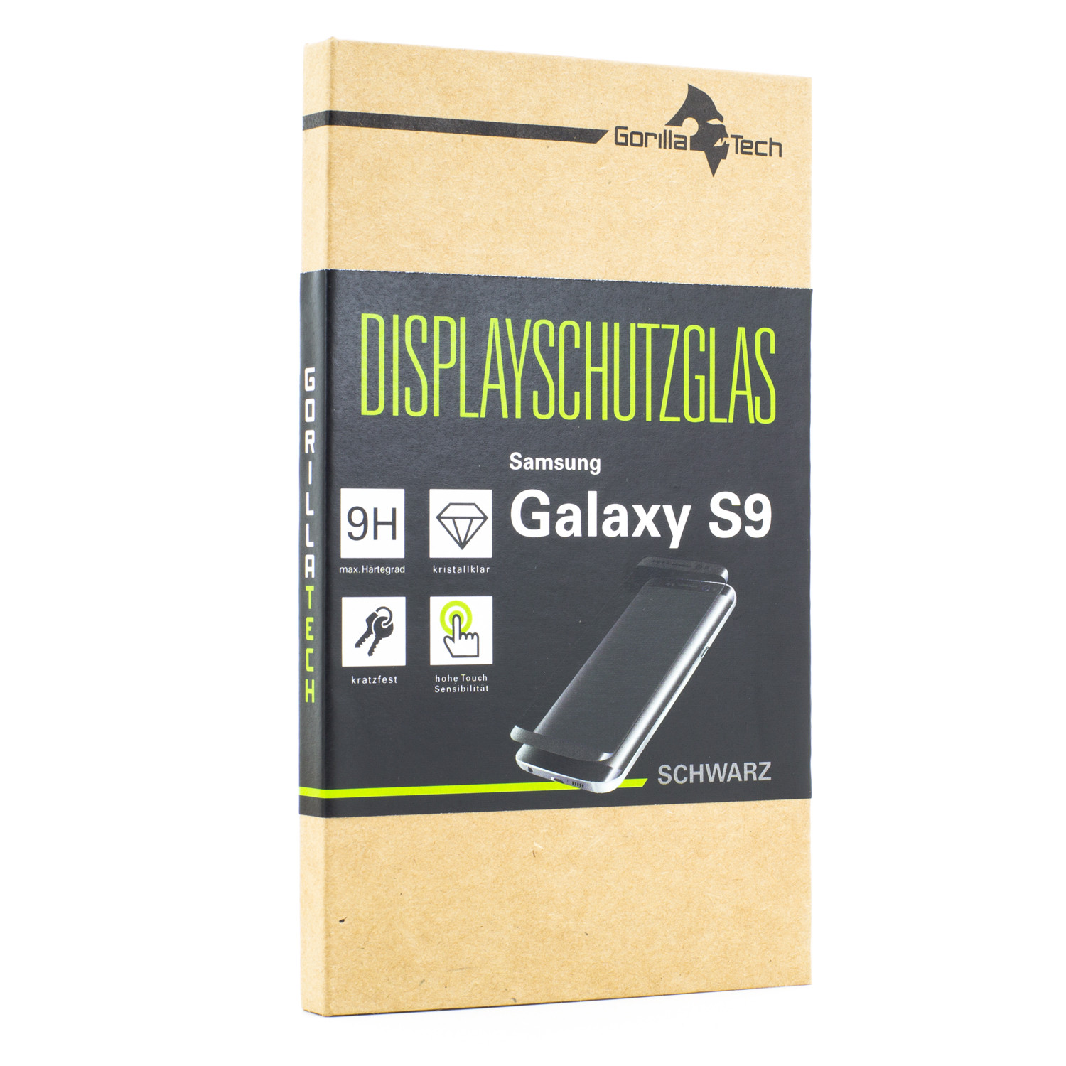Panzerglas Displayschutzglas infinity Display Samsung Galaxy S9
